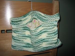 A mishapen peg bag:(