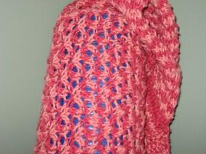 Yoga bag - stitch detail