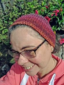 Handspun Targhee Calorimetry headband by irieknit